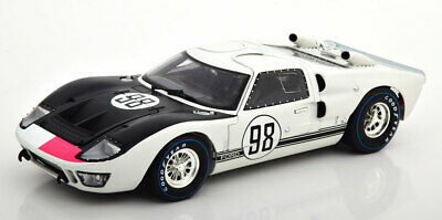 1966 FORD GT-40 MK II #98 WHITE AFTER RACE 1//18 MODEL SHELBY COLLECTIBLES SC432
