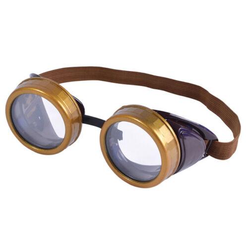 Victorian Steampunk Goggles Fancy Dress Costume Prop Accessory