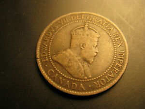 Canada-1902-Rare-Large-Cent-Coin-IDJ