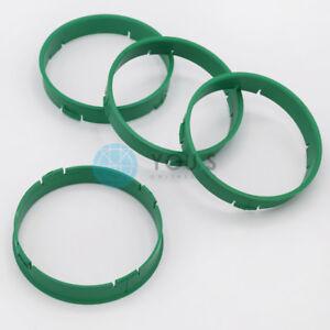 Envío inmediato 4x anillas de centrado 72,5 mm x 71,6 mm reifenkreide 72 5 x 71 6