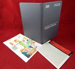 PC DOS: Casino Games-IBM 1982