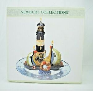 Newbury Collections - Lighthouse Candle Garden #00332831- New (See Description)