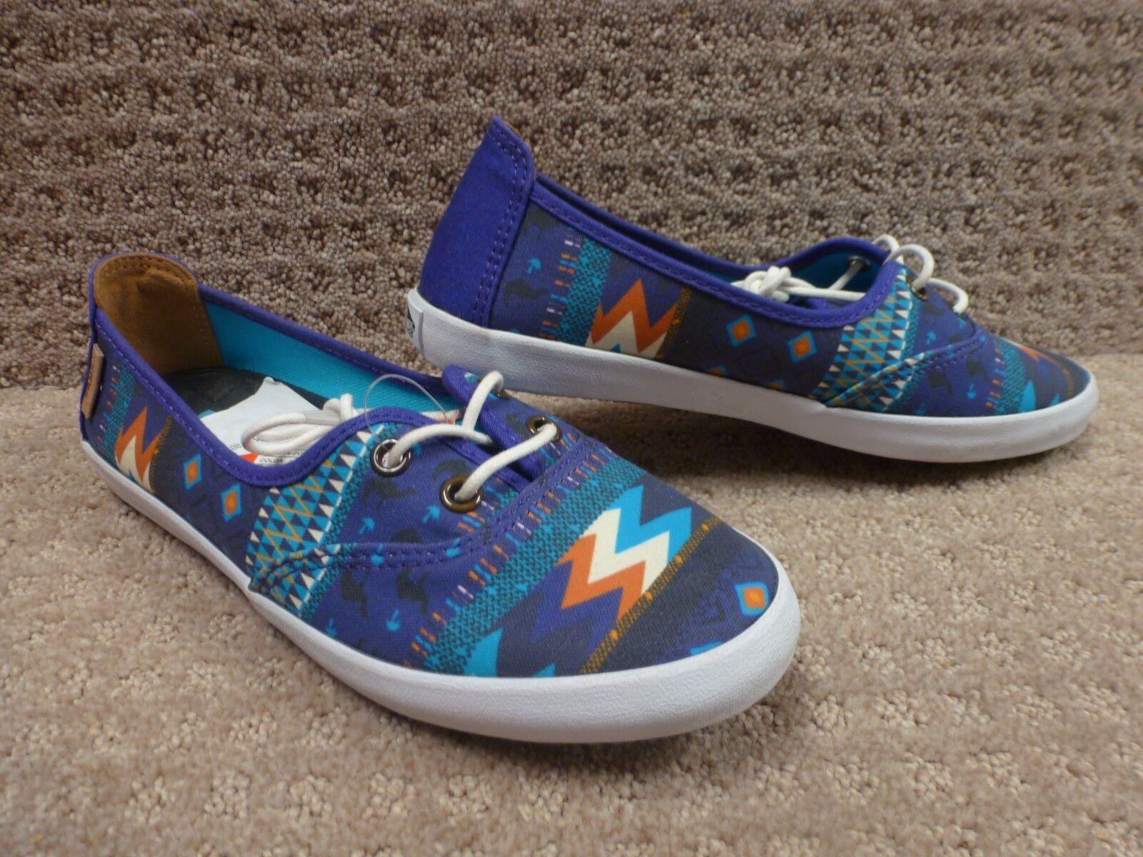 Vans Men's shoes  Solana  -- (Leila) Deep bluee White , Size 4.5