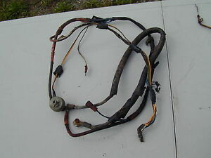gravely 408 lawn mower oem wiring harness ebay rh ebay com Ford Wiring Harness Kits gravely 260z wiring harness
