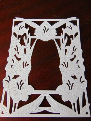 Tattered Lace dado corta flor cortada Marco Stargazer Lily X 6-12 Colores Impreso