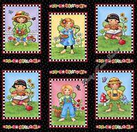 10 Blocks Quilting Treasures mary's Fairies 25890-j Girls Fabric Panel 24x44