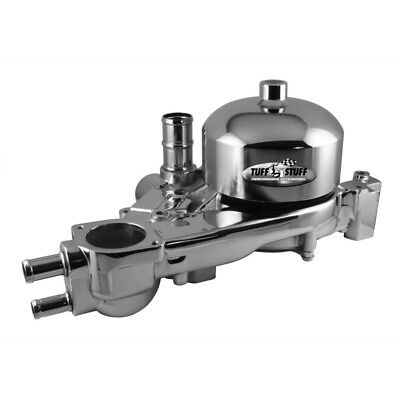 Tuff Stuff Water Pump 1310B; Mechanical Polished Aluminum for Chevy LS1 LS6