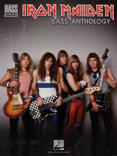 Iron Maiden Bass Anthology Sheet Music Bass Recorded Versions Book NEW 000690867