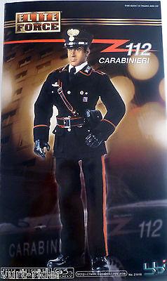 Bbi Elite Force Italian Police Carabinieri Fully Articulated 1/6 Figure Nib