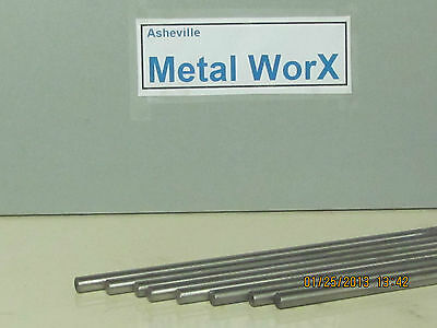 """3/16"""" .187  Stainless Steel Rod / Bar Round 304  10 Pcs  8"""" Long"""