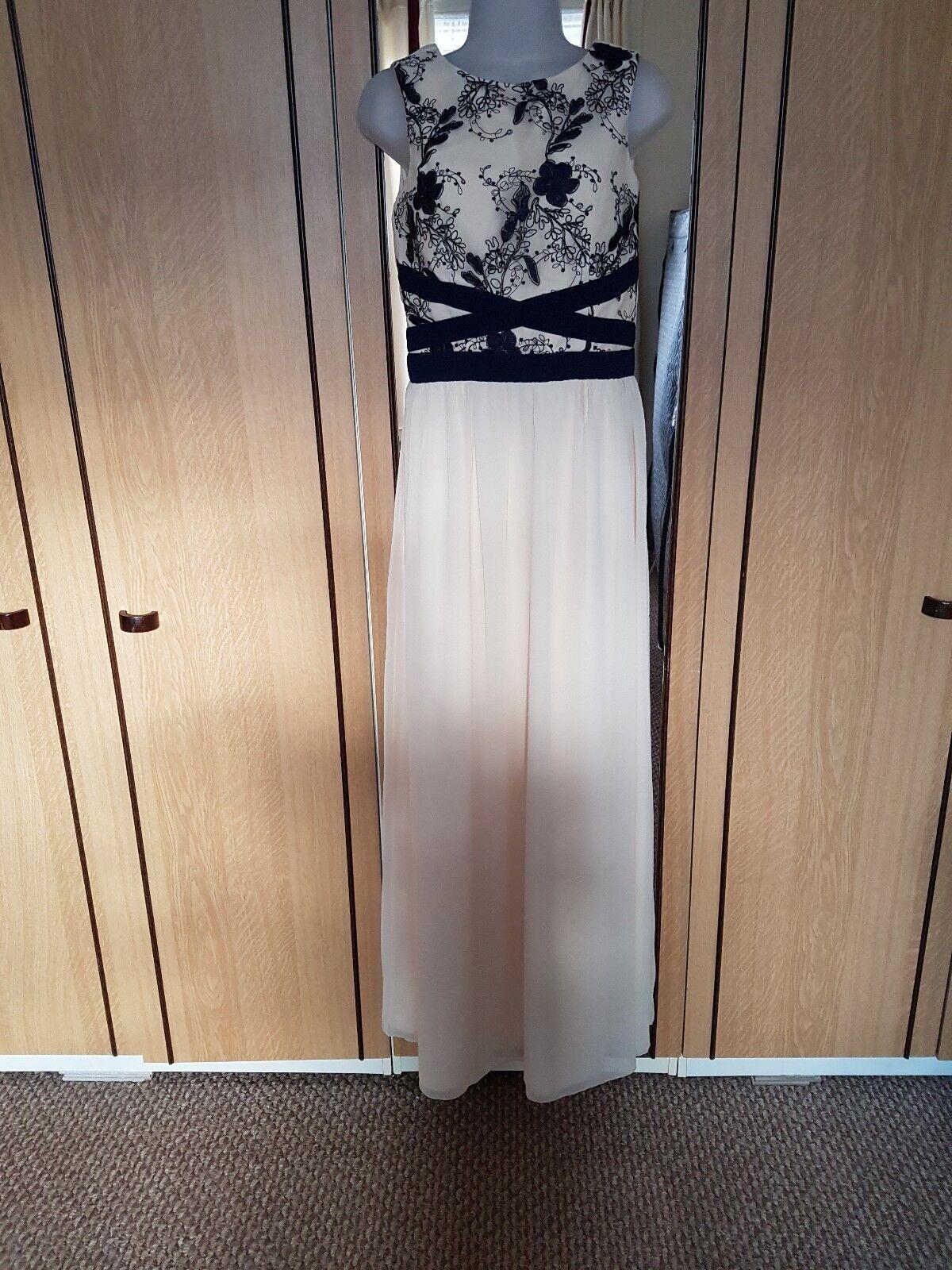 Little mistress maxi dress size 10