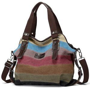 Hot-Canvas-Bag-Shoulder-Bag-Tote-Purse-Crossbody-Messenger-Satchel-Women-Handbag