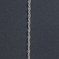 Italy 925 Sterling Silver Nova Diamond Cut Chain Necklace- 2 Mm/3 Mm- 16 18