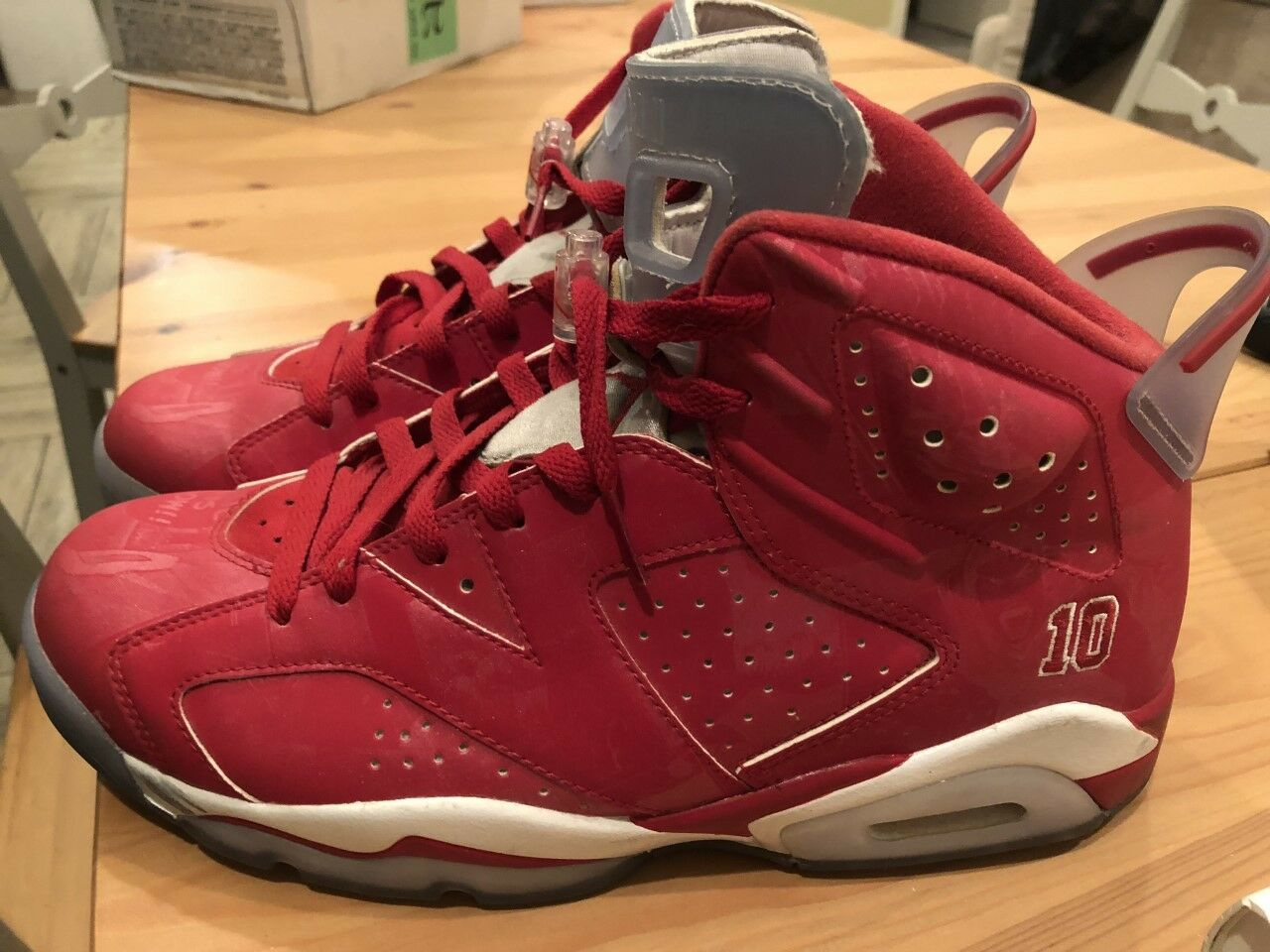 Air Jordan VI 6 DS x Slam Dunk talla DS 6 material ddfeff