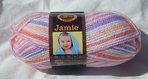 NEW /& From a Smoke Free Home Jamie Baby Yarn in Summer Stripes