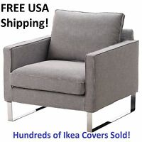 Ikea Mellby Armchair Chair Cover Slipcover Eldris Black White Sealed