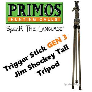 Jim Shockey Tall Tripod Primos Trigger Stick Gen 3 Series