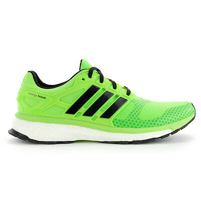 Adidas Men's Energy Boost 2 ATR Solar Green/Black Running Shoes M18751 NEW!