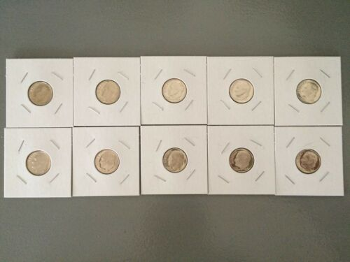Complete Decade Set FREE SHIPPING!! 1970-1979-S Proof Roosevelt Dimes