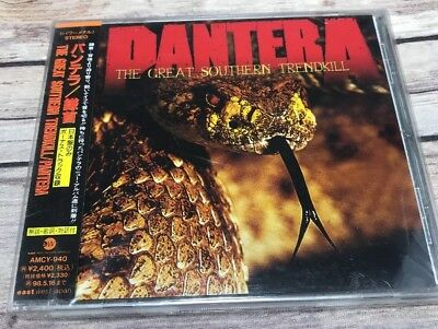cd pantera the great southern trendkill 1996