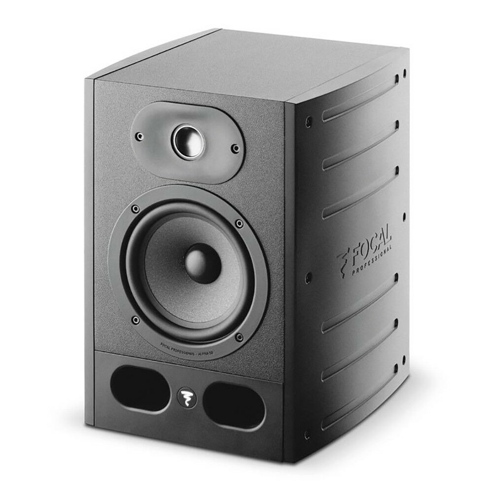 Focal Alpha 50 5  2-Way Bi-Amped Active Powered Studio Monitor Speaker Single
