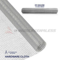 Galvanized Hardware Cloth Wire Metal Mesh Fencing 23 Gauge 1/4 Hole 24 36 48