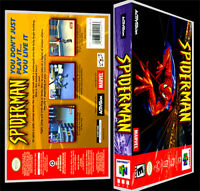 Spiderman - N64 Reproduction Art Case/box No Game.