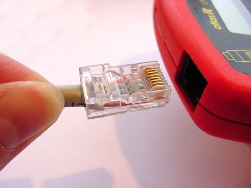 ATLAS Cavo Di Rete IT Analizzatore di picco UTP05 RJ45 CAT5 test jpst 008 fattura IVA 6