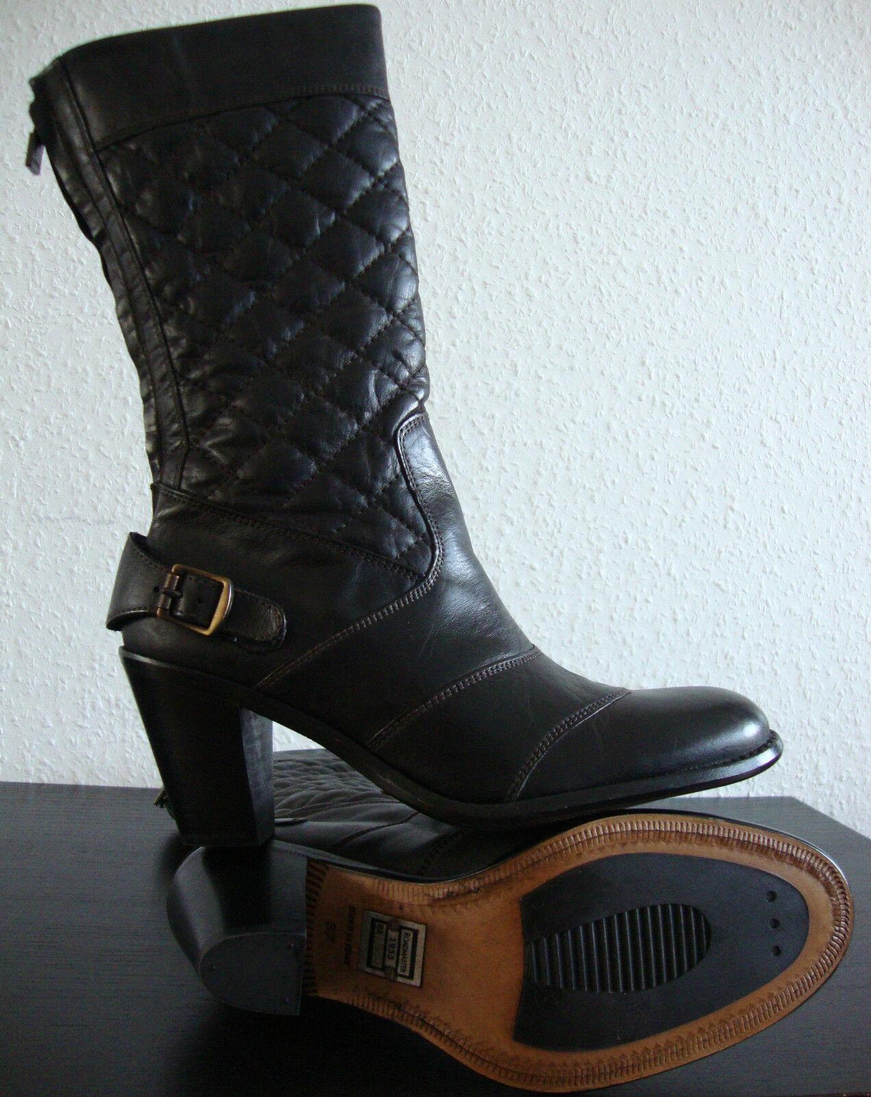 BELSTAFF ROADMASTER Stiefel 1955 H/H ANTIQUE BROWN Stiefel ROADMASTER Damen Leder Stiefel Gr.37 NEU 4143d5