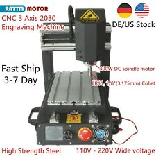 Useuhigh Strength Steel 3 Axis 2030 Desktop Cnc Router Engraving Mill Machine