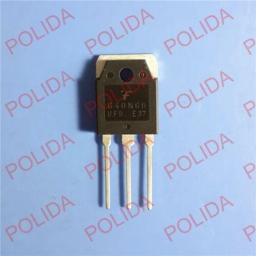 Transistor bipolar de puerta aislada 5PCS Transistor FAIRCHILD TO-3P Sgh 40 n 60 ufdtu SGH40N60UFD G40N60UFD G40N60