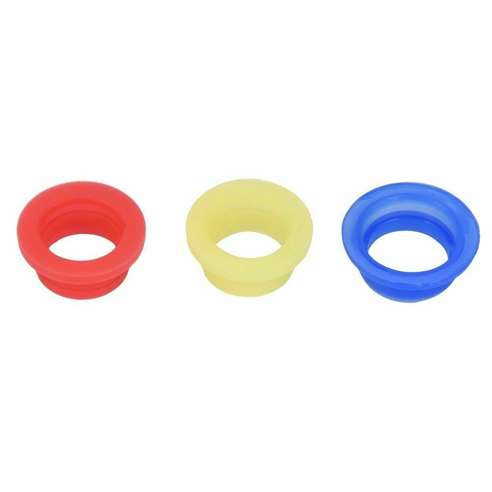 Zouminy 3PCs Engine Exhaust Pipe Tubing Joint Adapter Silicone Gasket for HSP 1//8 RC Nitro Car