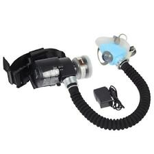 Electric Constant Flow Supplied Air Fed Respirator System Half Face Gas Mask
