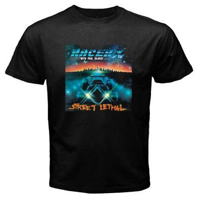 New Racer X Street Lethal Album Logo Men/'s Black T-Shirt Size S-3XL