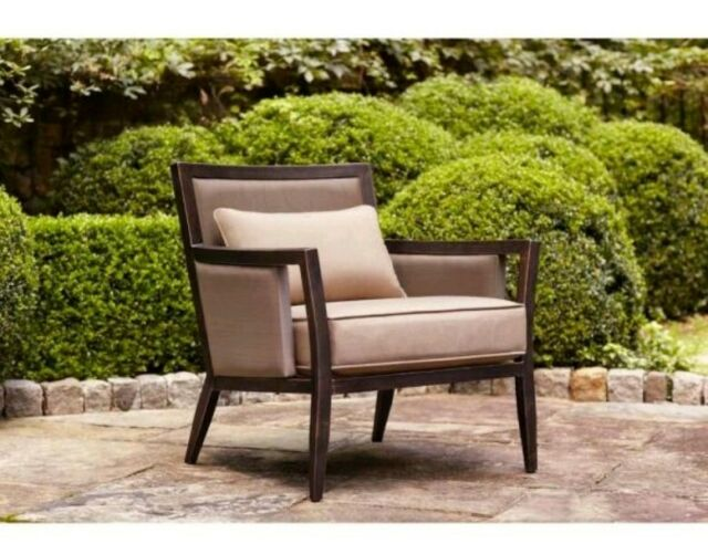 Excellent Brown Jordan Greystone Patio Lounge Chair With Sparrow Cushions Evergreenethics Interior Chair Design Evergreenethicsorg