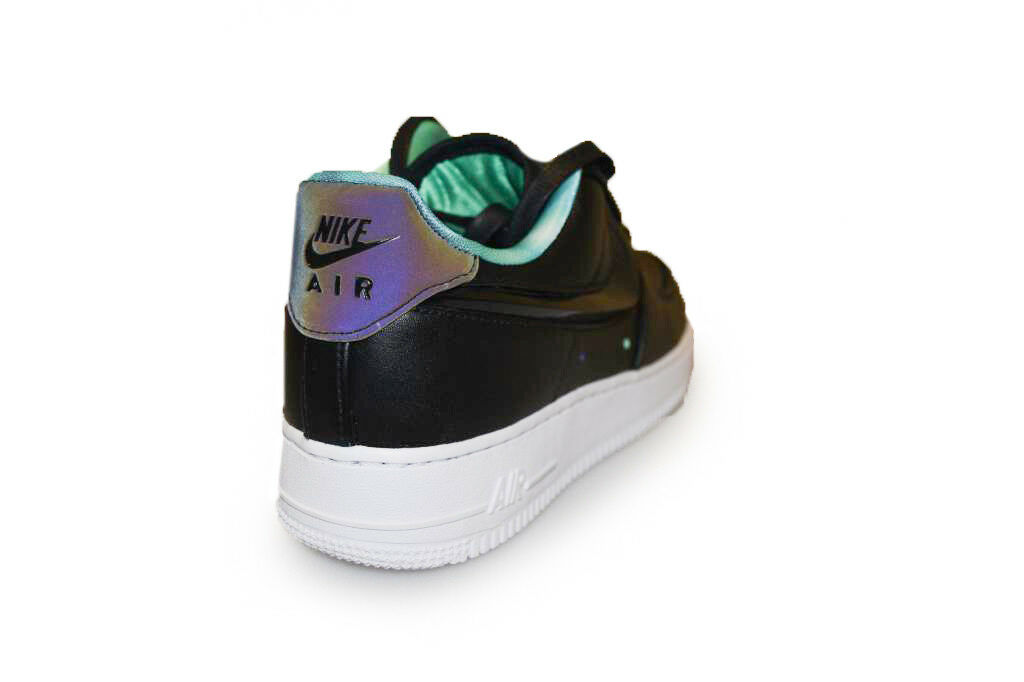 Mens Nike Air Force 1  - 488298 626 -  schwarz WEISS Trainers
