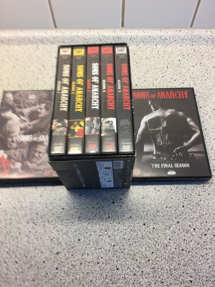 Sons of anarchy, DVD, action