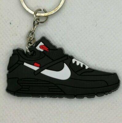 Porte clés Nike Air Max 90 OFF White black | eBay