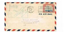 USA Luftpost MiNr. 310 als EF auf Erstflug von Buffalo nach New York mit SST