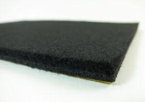 Placa-de-fieltro-autoadhesiva-10x10cm-Almohadillas-6mm-grueso-para-muebles-negro