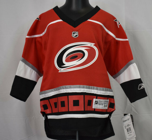 2a74bbdcd ... sweden reebok nhl carolina hurricanes toddler hockey jersey nwt 50 2t  4t 6f3fb cc352
