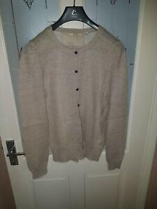 Ladies Cardigan mohair Jack Wills 14 Wool IqYUIFrwx