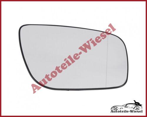 für Mercedes E-Klasse W211 06-09 Heizb Außenspiegelglas Rechts Asph