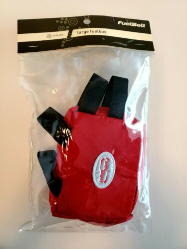 New FUELBELT Large fuelbox Cycling Bag Bike Frame Bag Bicycle Front Bag RED