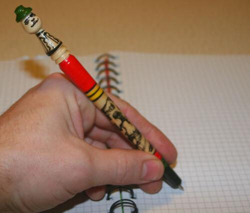 Penna a Sfera in Legno Fatto a Mano Handmade