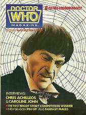 DOCTOR WHO MAGAZINE #114 - 1986 - PATRICK TROUGHTON Cover - Chris Achilleos