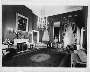 1940 The Green Room White House Washington Press Photo | eBay 1940s White House Scottie