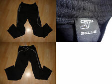 Men's Sells L Padded Goalkeeper Pants Black See Measure Soccer Football Hockey