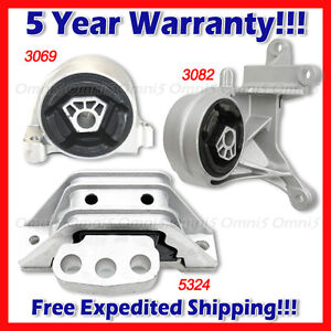 05-06 for Chevrolet Equinox//for Pontiac Torrent 3.4L Engine /& Trans Mount 4PCS