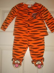 Disney Baby Boy One Piece Jumper Fleece New With Tags Tigger or Mickie